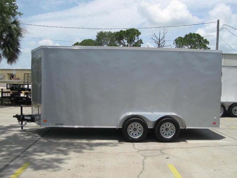 2018 Contractor Series GM716TAV Enclosed Cargo Trailer
