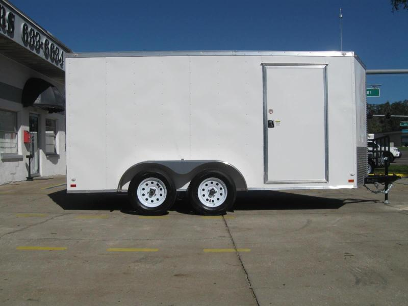 2018 Covered Wagon GM714TAV Enclosed Cargo Trailer