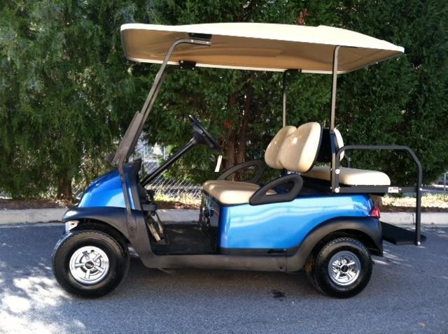 Title: Beach Club Car Precedent Golf Cart   Extended Roof   Nice Price:  $3995.00. Condition: Used. Manufacturer: Club Car Year: 2016