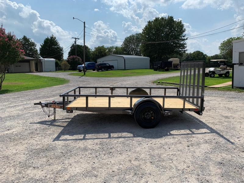 "2020 MAXXD 12' x 77"" Pipe-Top Single Axle Utility"