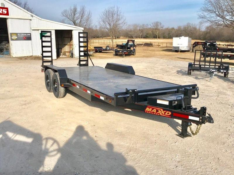 "2019 MAXXD 20' x 83"" Equipment Hauler Steel Floor 14K"