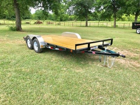 "2018 PJ Trailers 16' x 4"" Channel Carhauler"