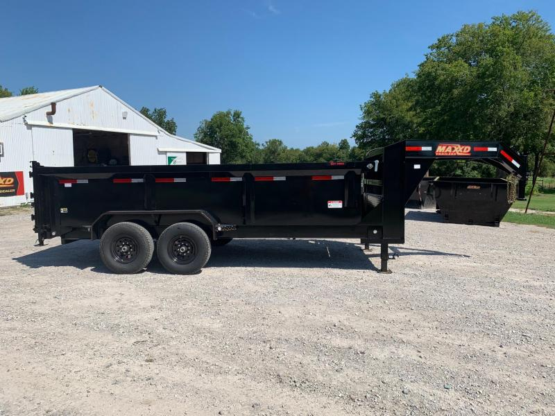 2020 MAXXD 16' x 7' GN I-Beam High Side Dump