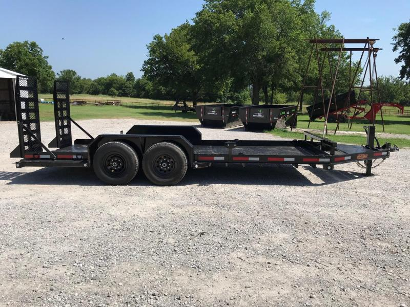 2019 MAXXD 18ft x 81in Skid Steer Hauler