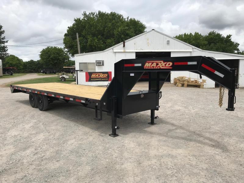 2019 MAXXD 25' GSX Flatbed Straight Deck W/ Singles