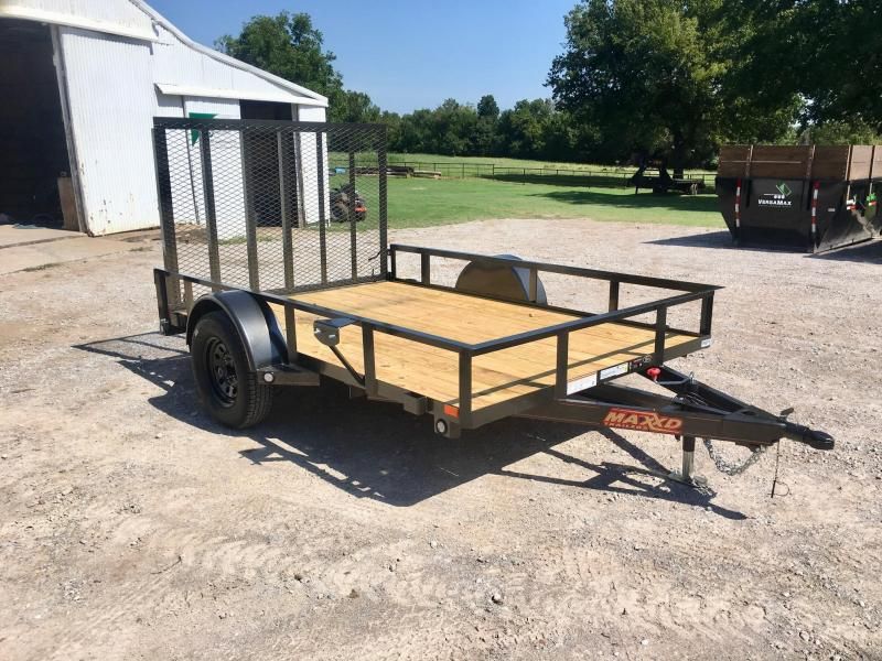 "2020 MAXXD 10' x 77"" Single Axle Utility"
