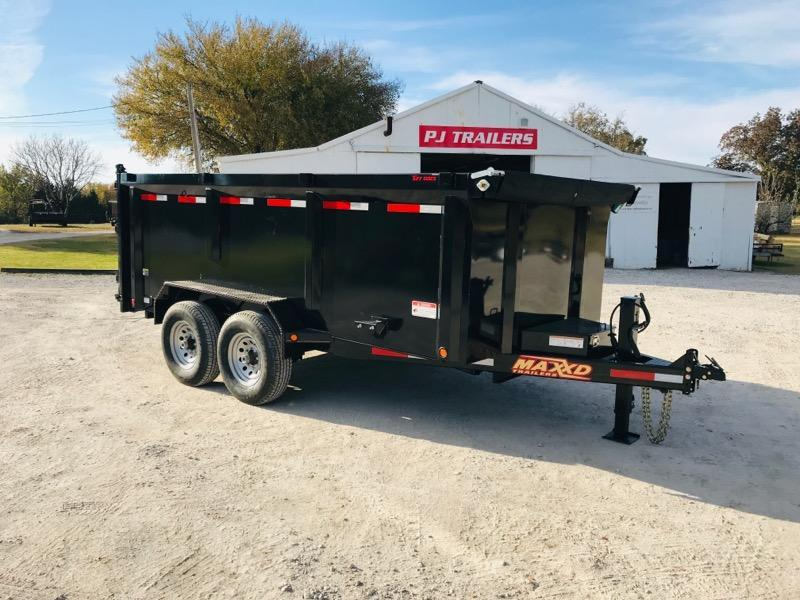 2019 MAXXD 14' x 7' Lo-Pro High Side Dump Trailer 14K