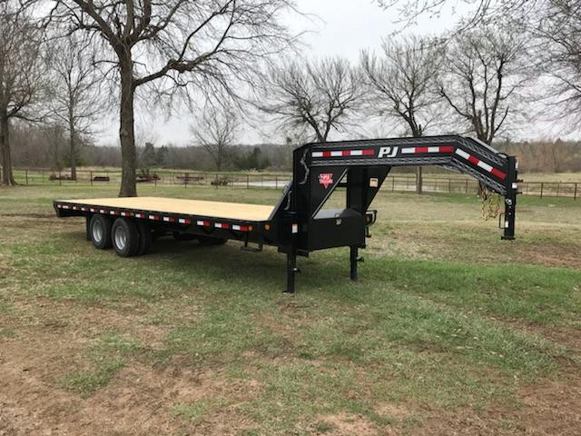 2019 PJ Trailers 25' Classic Flatdeck with Duals