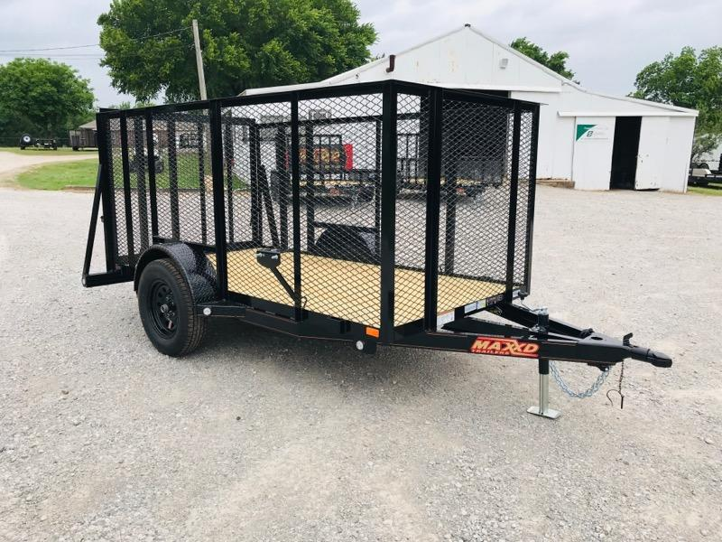 2019 MAXXD 5' X 10' Single Axle Landscape Trailer