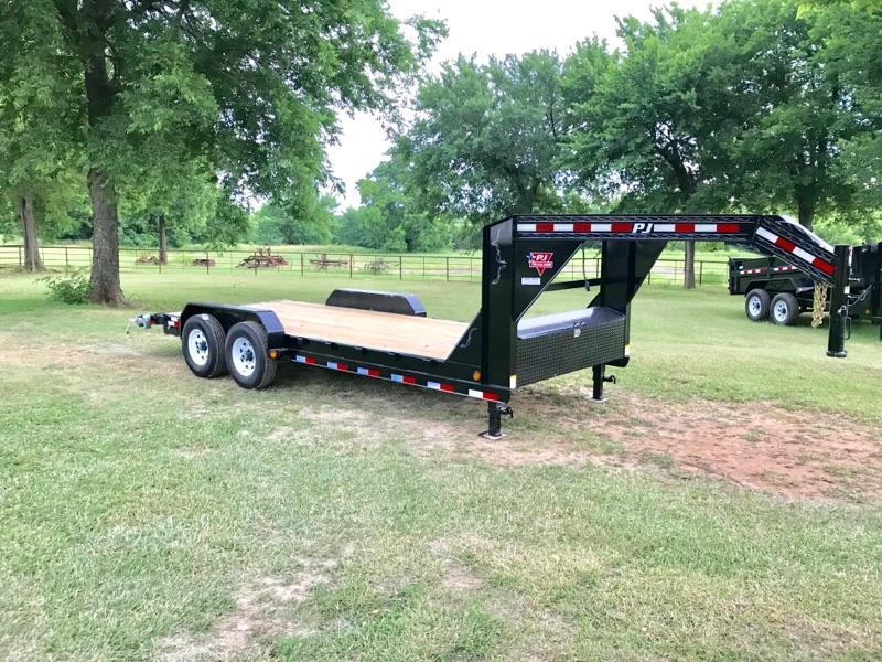 2019 PJ Trailers 20' GN Equipment Hauler 15.6K