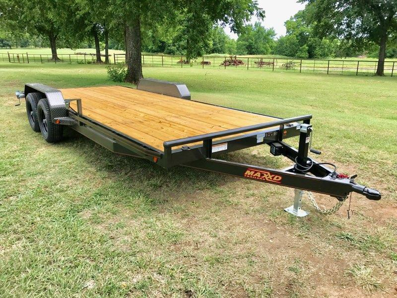 "2018 MAXXD 20' x 83"" Equipment Hauler 10K"