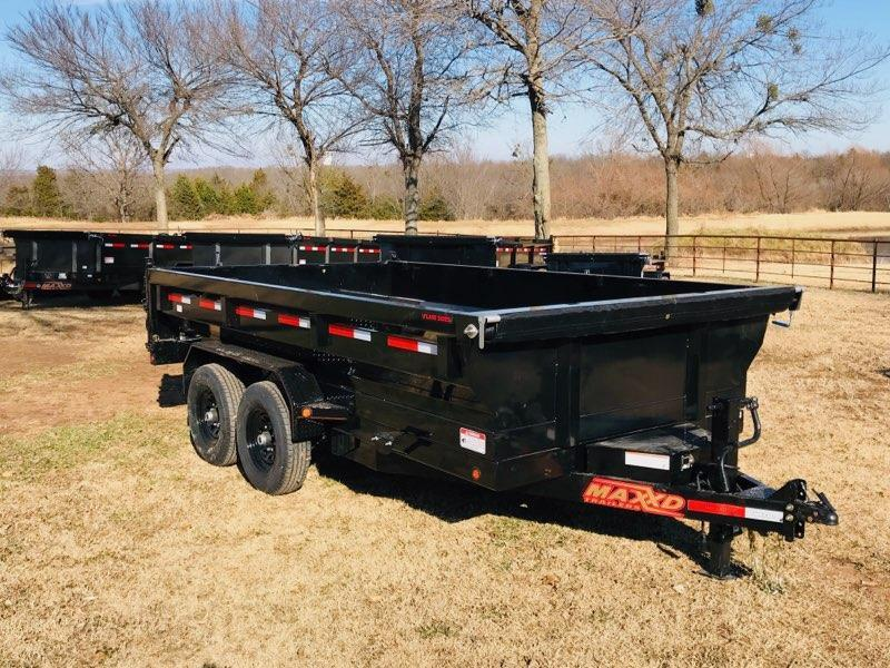 2019 MAXXD 14' x 7' HD Dump With Flare Sides