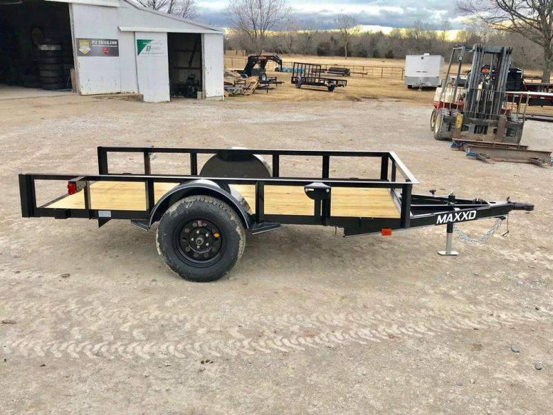 2019 MAXXD 10' x 5' Single Axle Quick Tilt