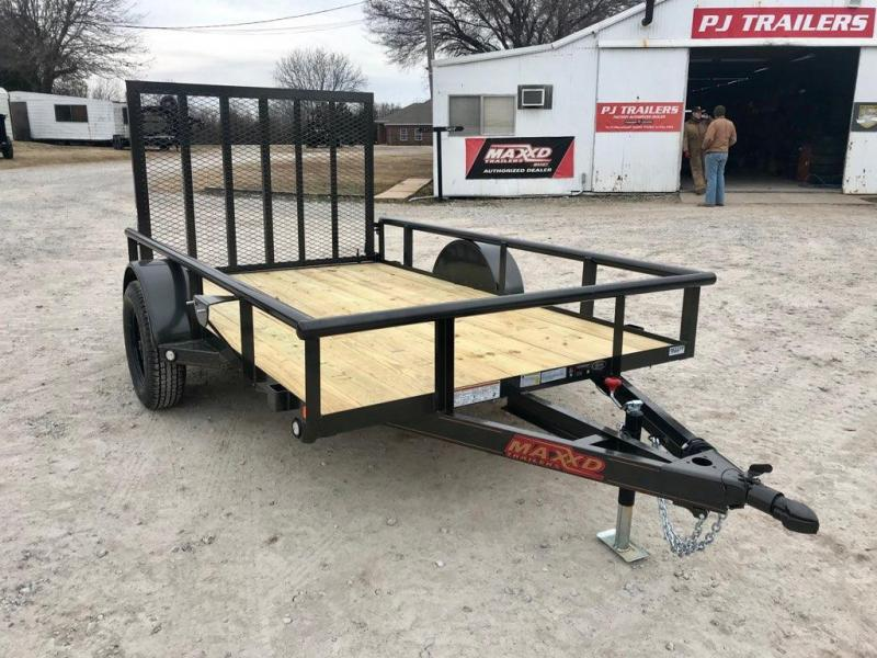 "2019 MAXXD 10' x 72"" Single Axle Utility"