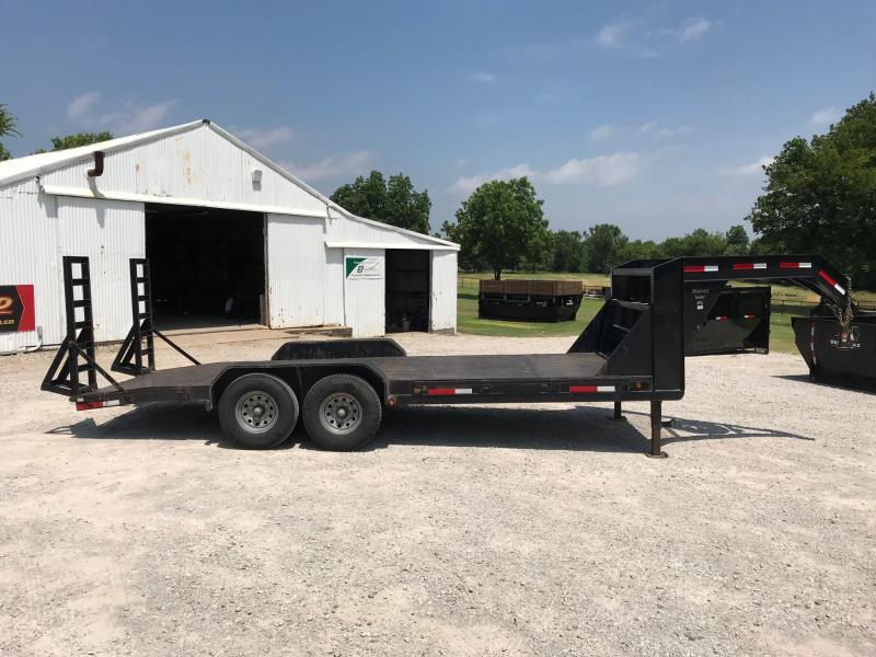 "2004 MAXXD 20' x 83"" GN Equipment Trailer"