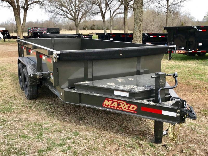 2019 MAXXD 14' x 7' I-Beam Dump 14K