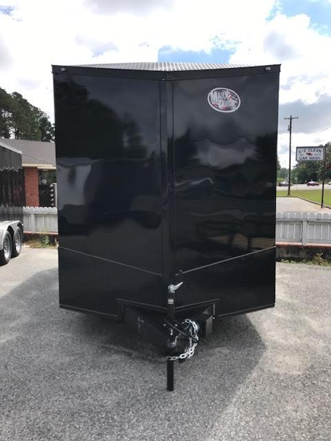 2019 Anvil 7x14 TA Blackout Motorcycle Trailer