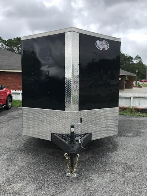 2018 Diamond Cargo 7x14 TA Motorcycle Trailer