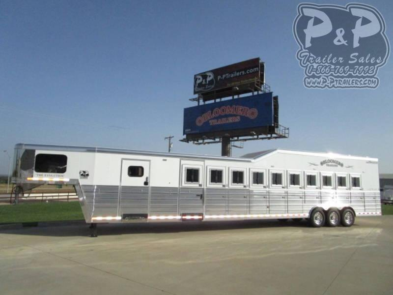 2019 Bloomer Trailers 10 Horse Trainer
