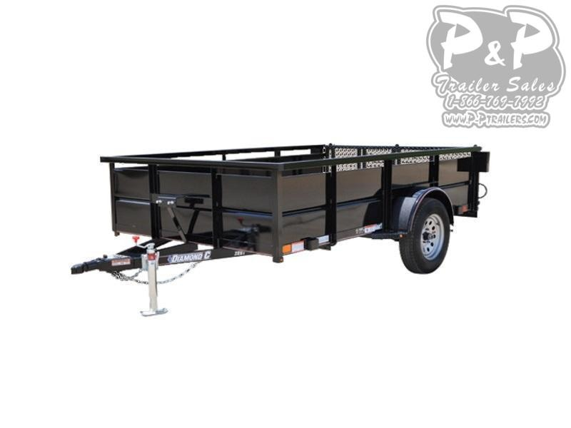 2018 Diamond C Trailers 3RBT 12 x 77 12 ft Utility Trailer