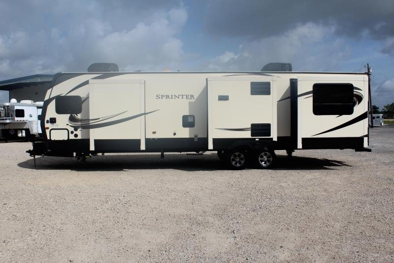 2018 Keystone Sprinter Wide Body 332DEN Travel Trailer RV