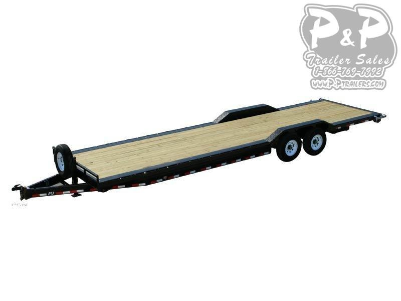 2019 PJ Trailers 8 in. Channel Super-Wide (B8) Car / Racing Trailer