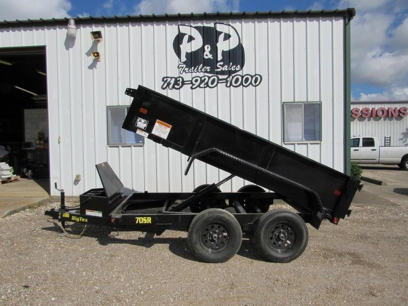2020 Big Tex Trailers 70SR-10-5WDD 10' Dump Trailer