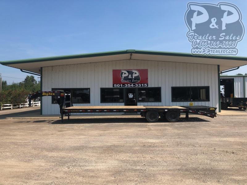 2020 Big Tex Trailers 22GN-25BK+5MR 30' Flatbed Trailer