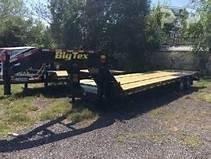 2020 Big Tex Trailers 22GN-25BK+5MR 30' Flatbed Trailer