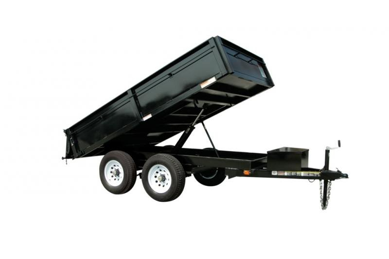 2019 Carry-On 6X10DUMPDO10K Dump Trailer
