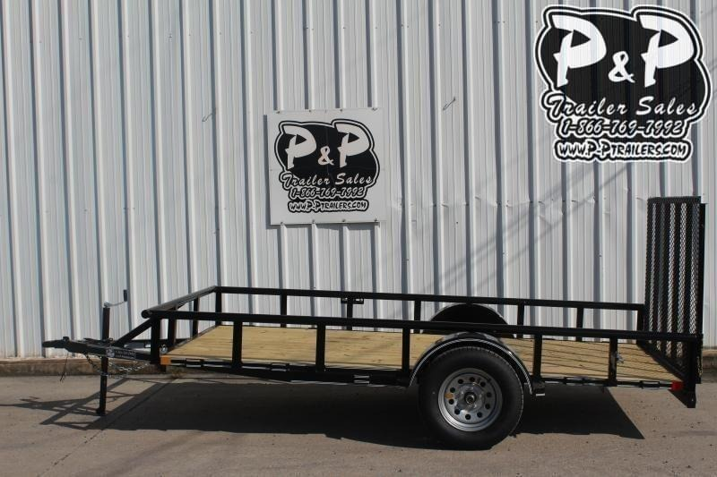 2019 P and P PPSA12X72LDRGPT 12 ft Utility Trailer
