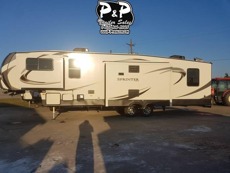 2018 Keystone RV Sprinter Limited 3340FWFLS