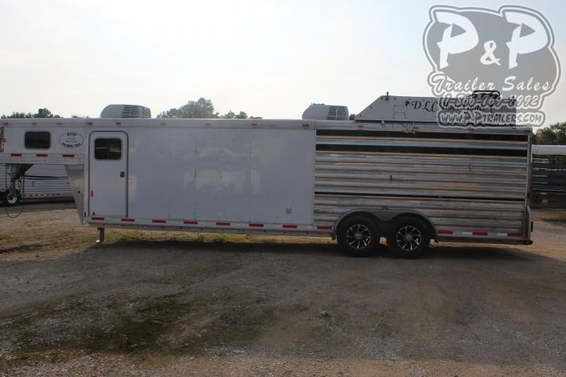 2016 Exiss Trailers 28 Stock 28 ft Livestock Trailer LQ