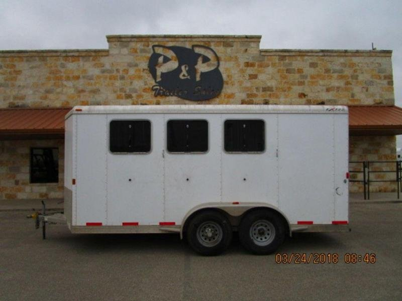 2013 Exiss Trailers 3 Horse Bumper Pull Trailer