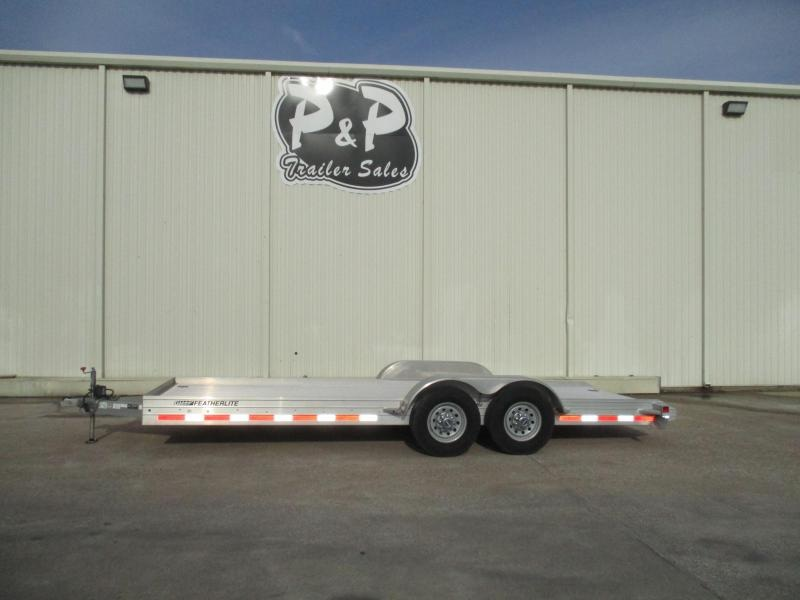 2013 Featherlite 2013 Featherlite 3110 20Ft 20' Flatbed Trailer