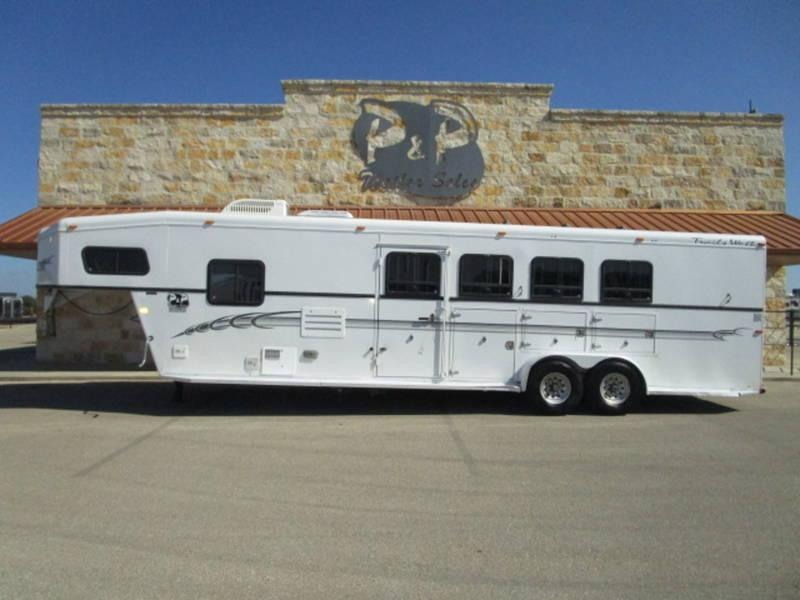 2003 Trails West Sierra Standard 4 Horse Gooseneck
