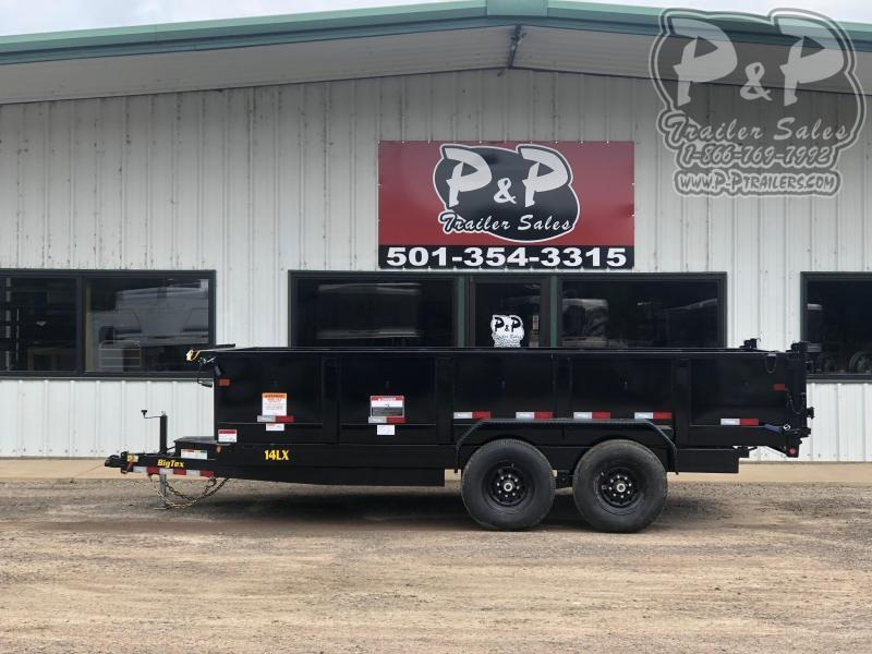 2020 Big Tex Trailers 14LX-16BK7SIRPD 16' Dump Trailer