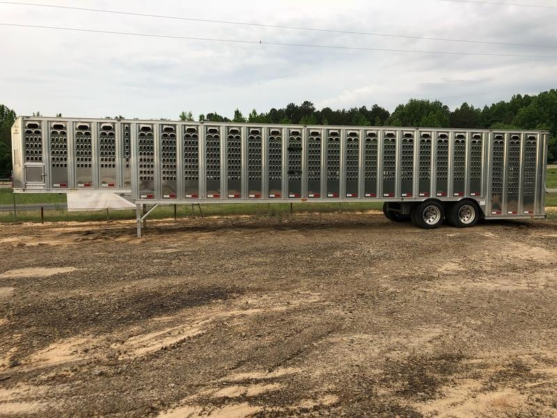 2017 Barrett Trailers PGL53 53' Ground Load