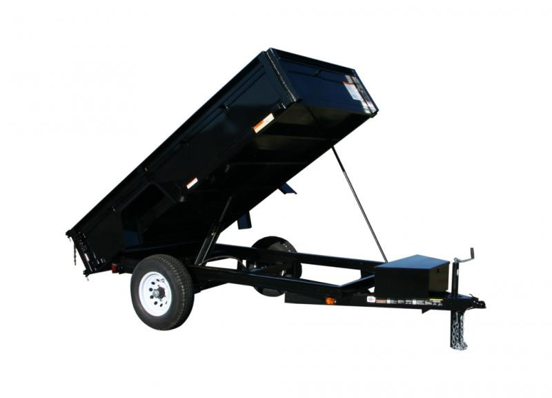 2019 Carry-On 5X8DUMPLP5K Dump Trailer
