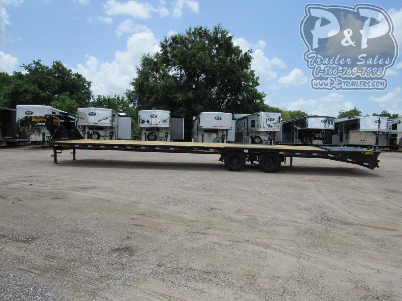 2020 Big Tex Trailers 22GN-35BK5MR Flatbed Trailer