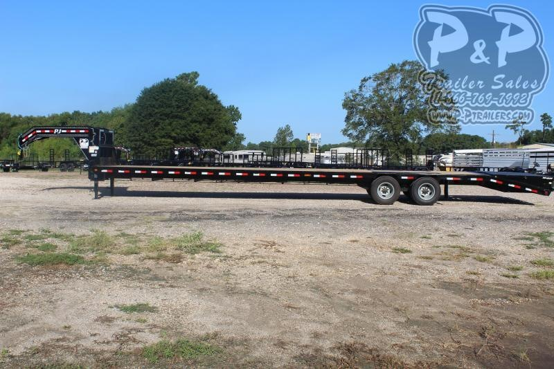 2020 PJ Trailers PJDT35+5X102HDMRLP 35+5 ft Flatbed Trailer