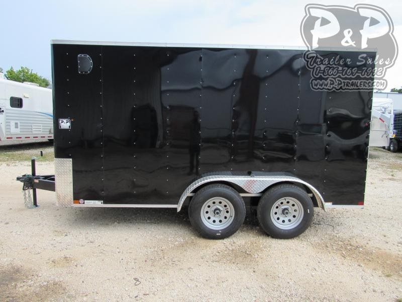 2020 Carry-On 7X14 CGRBN 14 ft Enclosed Cargo Trailer