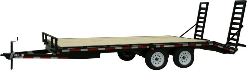 2019 Carry-On 8.5X16DODT7K Equipment Trailer