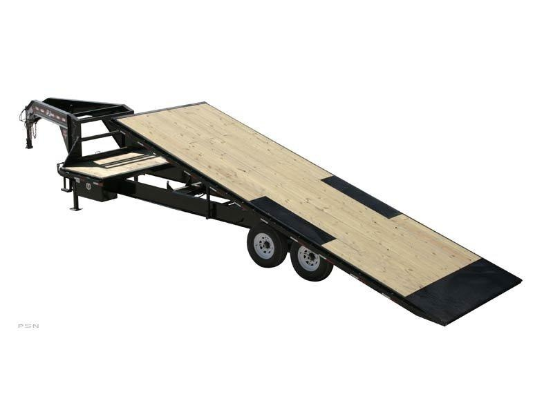 2019 PJ Trailers HD Deckover Tilt (T9) Equipment Trailer