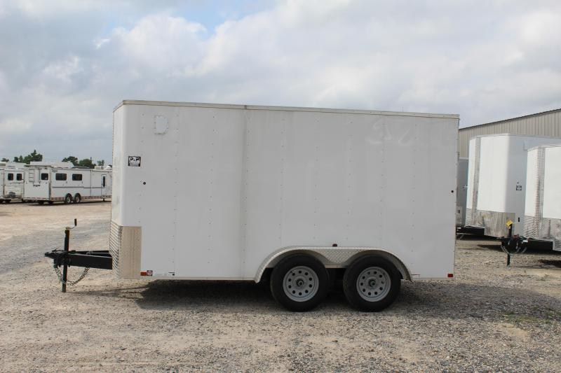 2018 Carry-On 7X14 CGRBN 14' Enclosed Cargo Trailer