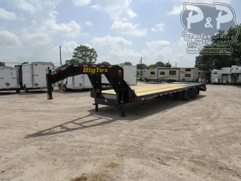 2020 Big Tex Trailers 22GN-25BK5MR Flatbed Trailer