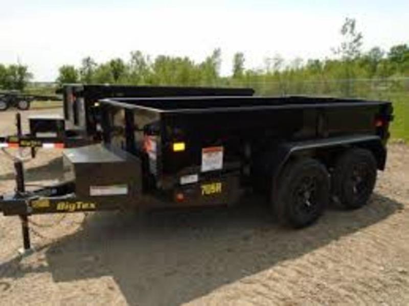 2018 Big Tex  70SR-10-5WDD 5x10 Dump