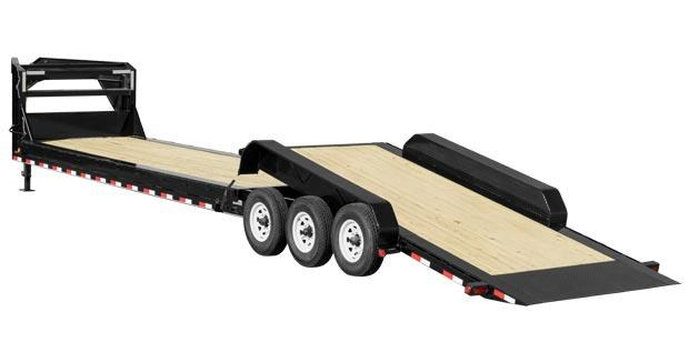 2019 PJ Trailers HD Equipment Tilt 8 in. Channel (TK) Equipment Trailer