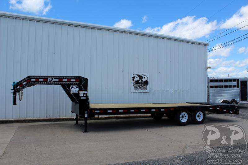 2020 PJ Trailers DT25X102HDMRLP 25' Flatbed Trailer