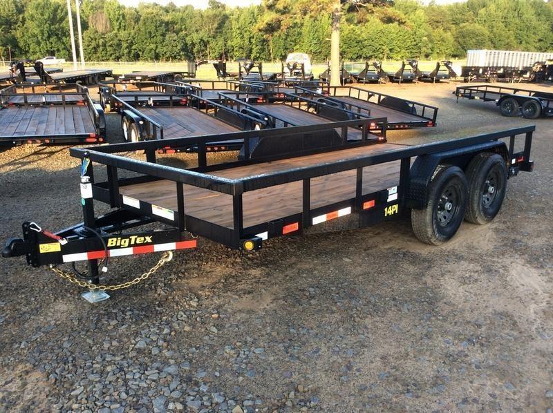 2020 Big Tex Trailers 14PI-16 16' Equipment Trailer